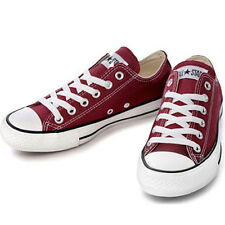 CONVERSE CHUCK TAYLOR AS CORE OX Maroon Wine M9691 All Star Sneakers Men Women