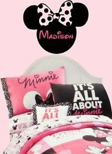 Minnie Mouse vinyl wall decal sticker - match your quilt or crib bedding