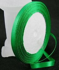 6mm Satin Ribbon 22 Meters ~ 12 Colours to Choose from