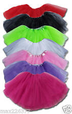 NEW 12 inch ballet tutu 3 layers 2 to 8 years quality USA FAST SHIP 40 colors
