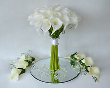 Elegant Calla Lilies and Crystals/Elements, Pearls  Wedding Bouquets