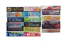 Chewing gum flavours from Japan Lotte Fresh Japanese Foods Candy Sweets