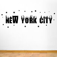 Sticker New York statue de la liberté Sticker autocollant skyline autocollants transfert vinyle