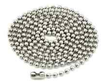 Choose Length - Stainless Steel Bead Chain Necklace