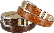 The Alexander - Genuine Leather Italian Calfskin Designer Dress Belt