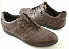 Mens Ecco Summer Sneaker Casual Shoes Coffee Style # 540024  56700