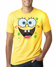 SpongeBob Face Adult T-Shirt New