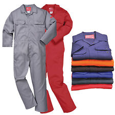 Biz1 Bizweld Flame Retardant Overall Welding Welder Boilersuit Coverall Workwear