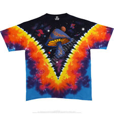 Fantasy Space Shrooms M, L, XL, 2XL, 3XL, 4XL, 5XL, 6XL Tie Dye T-Shirt