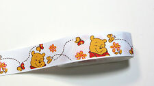 """Disney Grosgrain ribbons #2 Winnie the Pooh and Butterfly 1"""",  5/8"""" authentic"""