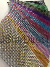 504piece Self Adhesive Rhinestone Bling Stickers 6mm Round USA