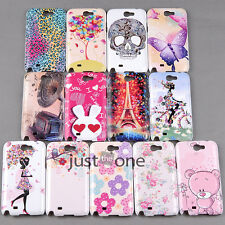 Colorful Hot Pattern Skin Back Case Cover Protect for Samsung Galaxy Note2 N7100