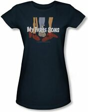 "My Three Sons ""Shoes Logo"" Babydoll Tee - FREE SHIPPING"