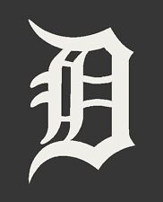 Detroit Tigers Old English D - Decal / Sticker - You Pick Color & Size