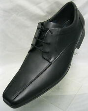Mens Clarks Forbes Over Black Leather Lace Ups G Fitting