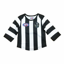 Official AFL Collingwood Magpies Baby Toddler Footy Football Jumper Guernsey