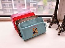 Afrocat Paper Doll Mate Pouch Cosmetic Makeup Bag Case Pencil Storage Gift Case