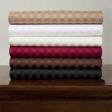 USA 1000TC SHEET SET COLLECTION 100%EGYPTIAN COTTON SOLID & STRIPE IN 20+COLORS