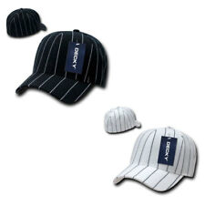 New DECKY Fitted Curved Bill Pin Striped Pinstriped Baseball Hats Hat Caps Cap