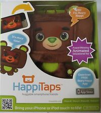 Infantino HappiTaps Plush and Huggable Cover Brown Bear or White Bear