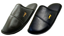 NEW! MEN'S CLOSED FRONT COMFORTABLE SLIPPERS FLATS INDOORS SLIP ONS -1552
