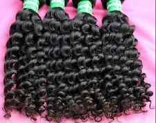 "100% brazilian virgin human bouclés cheveux noirs tissage extension,100 g, 12 "" - 28"" 1pc"