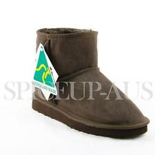 Australian Made Classic Ultra Short Ugg Boots Premium Sheepskin Chocolate Brown