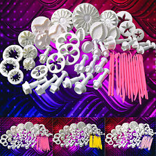 13 Sets (57 Pcs) Sugarcraft Cake Decorating Fondant Icing Plunger Cutters Tools