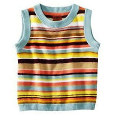 NEW! Authentic Missoni Kids Target Girls Pullover Knit Sweater Vest Colore Blue