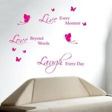 LIVE LAUGH LOVE wall quote bedroom sticker transfer art vinyl decal house quotes