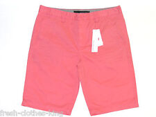 CALVIN KLEIN Shorts New $59.50 Mens Coral Choose Size