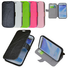 PU Leather Card Magnetic Stand Case for Samsung Galaxy Note 2 N7100+Stylus+Guard