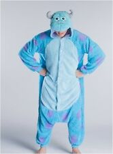 2013 New Style Monster University Sulley Costume Cosplay Pajamas Jumpsuit Onesie