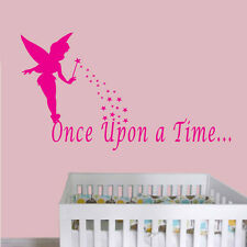 Contempory Tinkerbell Popular Fairy Nursery Removable Wall Sticker Decal 001