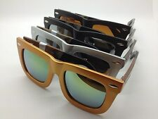 NEW Silvano Bamboo Wood Sunglasses Eyewear Shades Carpentier Collection Mirror
