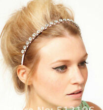 Pink or Black headband with Rhinestone/Diamanté,Wedding,Races,HolidayParty,ASOS.