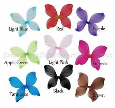 "9 Pair 16""x19"" Fairy Wings Butterfly dress up Costume USA Ship within 24 hours"