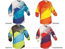 Fly Racing Kinetic Blocks Jersey Adult & Youth Sizes MX/ATV/BMX 2014 Riding Gear