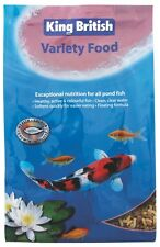 King British Variety Sticks Pond Fish Food Floating Sticks for All Fish