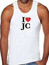 New Mens Printed I LOVE JC Heart Christian JESUS Christ Great DESIGN All Size