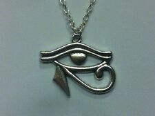 RA - EYE OF HORUS - Wedjat Pendant Necklace ***UK made*** Free 1St Class Post***