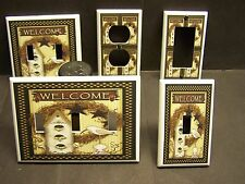 COUNTRY BIRDHOUSE COUNTRY BARN STAR & SEAGULL LIGHT SWITCH OR OUTLET COVER 416