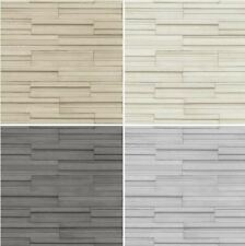 NEW LUXURY FINE DECOR CERAMICA SLATE TILE STONE BRICK EFFECT VINYL WALLPAPER