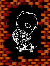 De Pared vehículo Kids Teen Vinilo Decal Sticker-Graffiti Estilo Boy Patinador