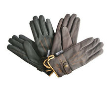 Mark Todd Winter Riding Gloves,Black or Brown,All Sizes,Leather with Thinsulate