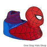 SPIDERMAN Toddler 5 6 7 8 9 10 11 12 Shoes SOCK TOP SLIPPERS Socks MARVEL Hero