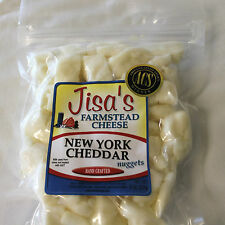 New York Cheddar, Garlic Pepper, Dill or Ranch Farmstead Cheese Nuggets Lot of 4