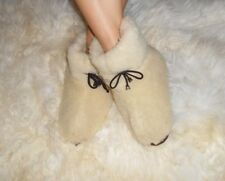 Sheep Wool SLIPPERS Cosy fashionable warm comfortable boots, cold weather winter