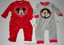 MINNIE or MICKEY MOUSE Baby Infant 0 3 6 9 Months ROMPER Outfit DISNEY