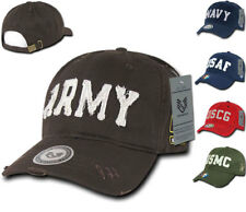 Military Vintage Washed Cotton Twill Polo Distressed Baseball Hats Hat Caps Cap